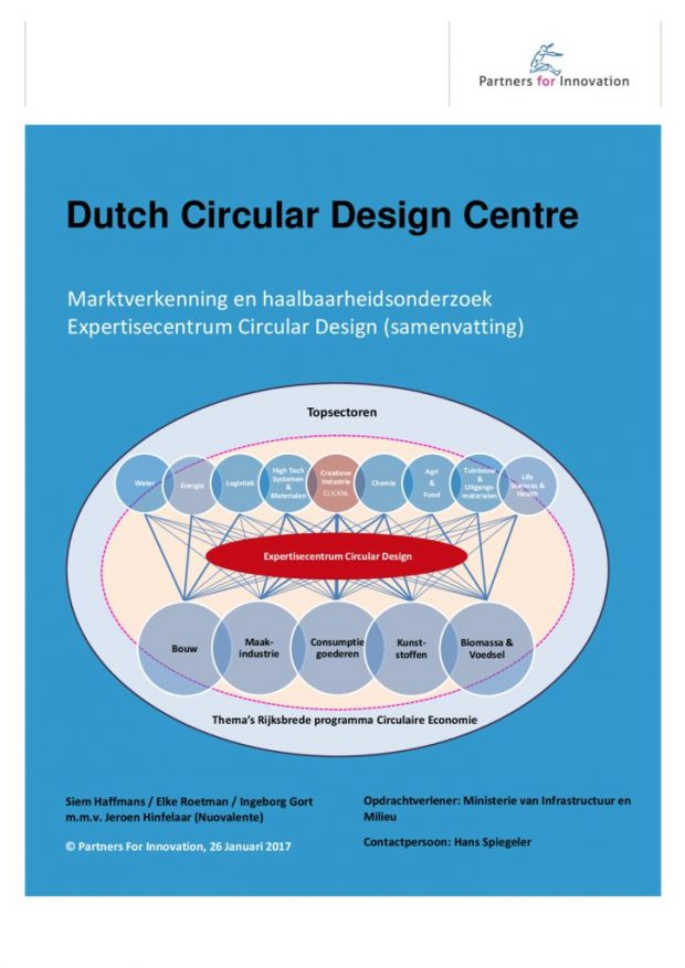 thumbnail of Samenvatting – Verkenning Expertisecentrum Circular Design