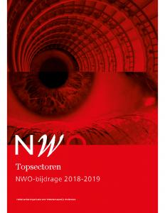 Topsectoren-NWO-bijdrage-2018-2019